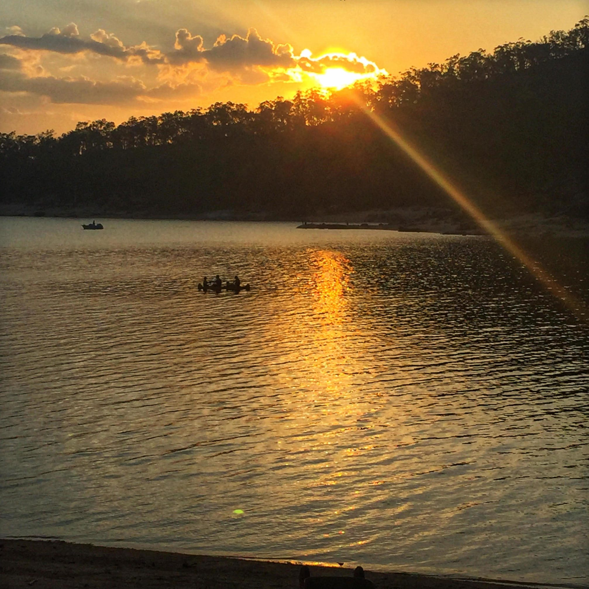 Sunset on Lake Tinaroo